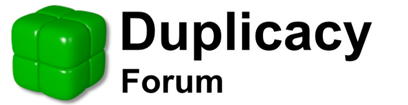 Duplicacy Forum