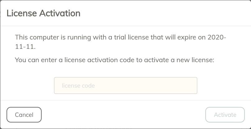 invalid license