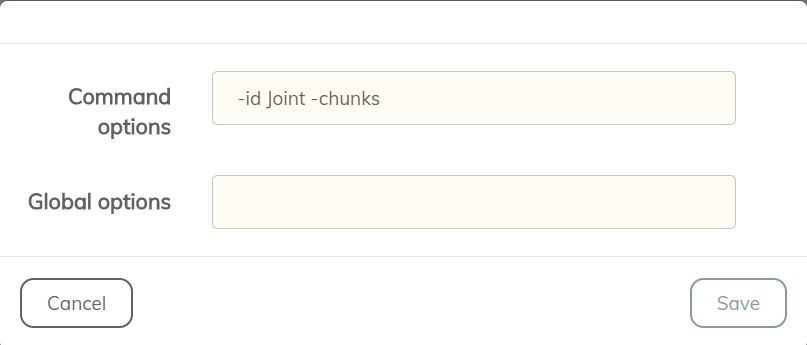 check -id Joint -chunks